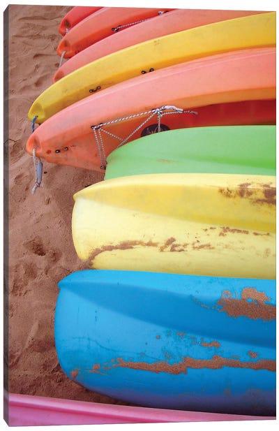 Kayaks II Canvas Art Print