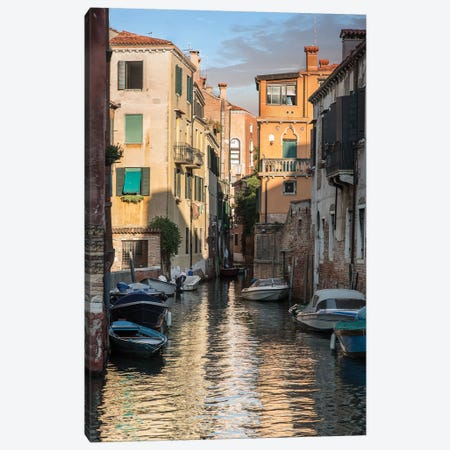 Canals Of Venice Canvas Print #JRS11} by Jaroslaw Blaminsky Canvas Art