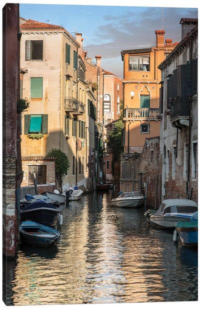 Canals Of Venice Canvas Art Print