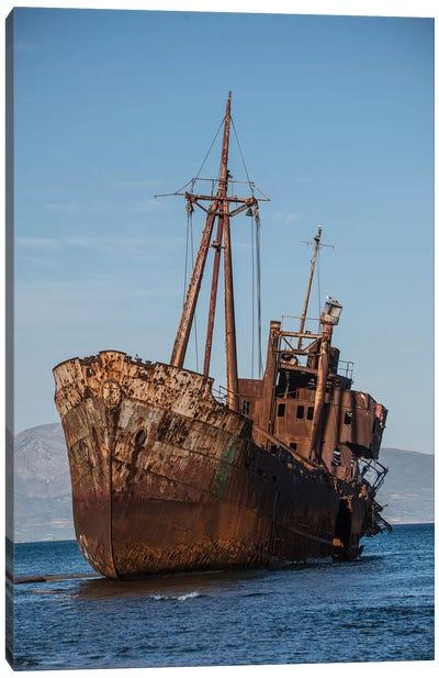 Dimitrios Shipwreck Canvas Art Print