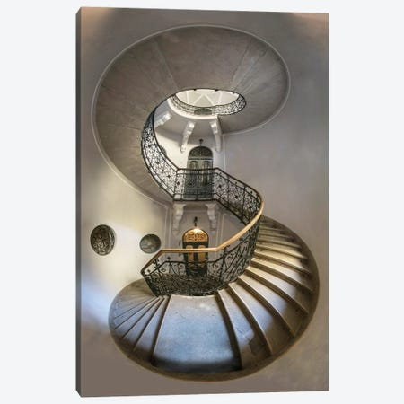 Eight - Spiral Staircase Canvas Print #JRS22} by Jaroslaw Blaminsky Canvas Print