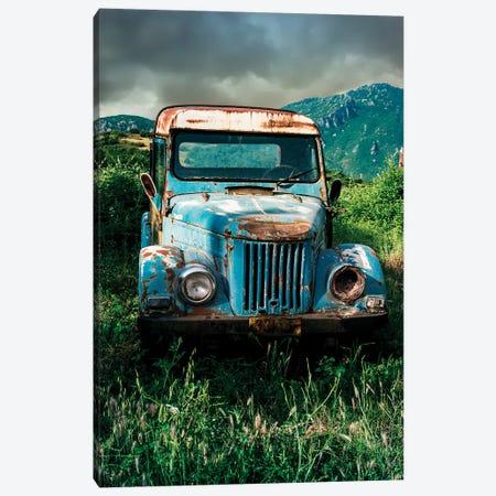 Forgotten Blue Canvas Print #JRS24} by Jaroslaw Blaminsky Canvas Art