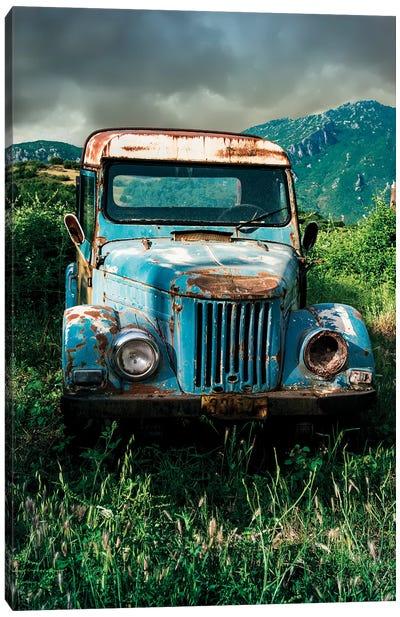Forgotten Blue Canvas Art Print