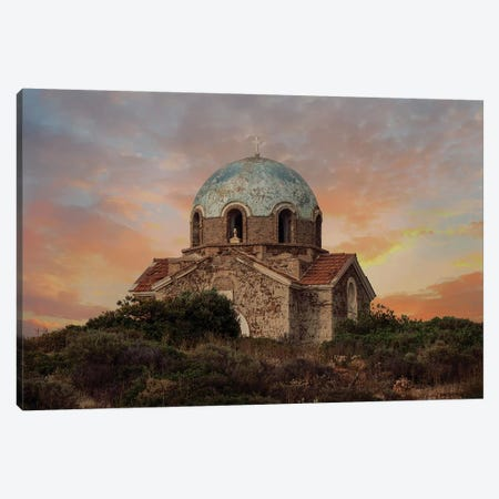 Forgotten Church 3-Piece Canvas #JRS26} by Jaroslaw Blaminsky Canvas Wall Art