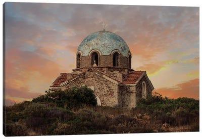 Forgotten Church Canvas Art Print