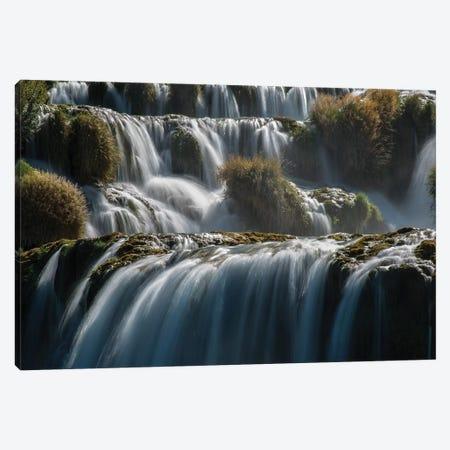 Krka Waterfalls Canvas Print #JRS41} by Jaroslaw Blaminsky Canvas Print