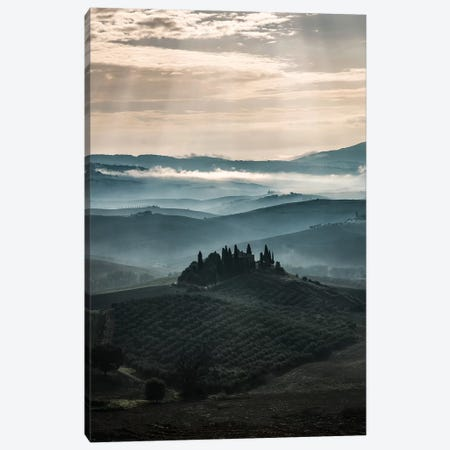 Morning Fog At Toscania Canvas Print #JRS46} by Jaroslaw Blaminsky Canvas Artwork