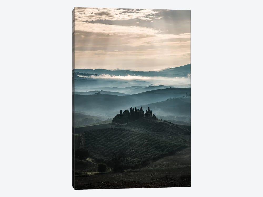 Morning Fog At Toscania by Jaroslaw Blaminsky 1-piece Canvas Wall Art