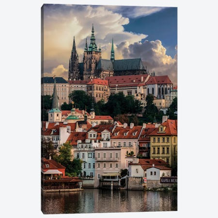 Postcard From Prague Canvas Print #JRS57} by Jaroslaw Blaminsky Art Print