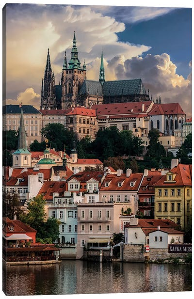 Postcard From Prague Canvas Art Print