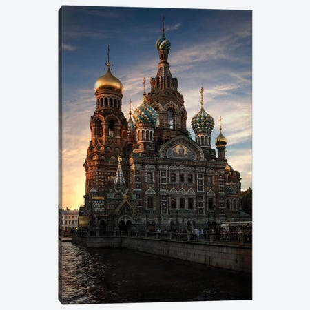 Postcard From Saint Petersburg Canvas Print #JRS58} by Jaroslaw Blaminsky Canvas Artwork