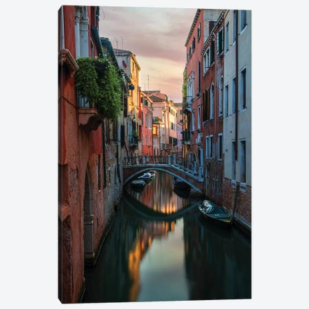 Postcards From Venice Canvas Print #JRS60} by Jaroslaw Blaminsky Canvas Print