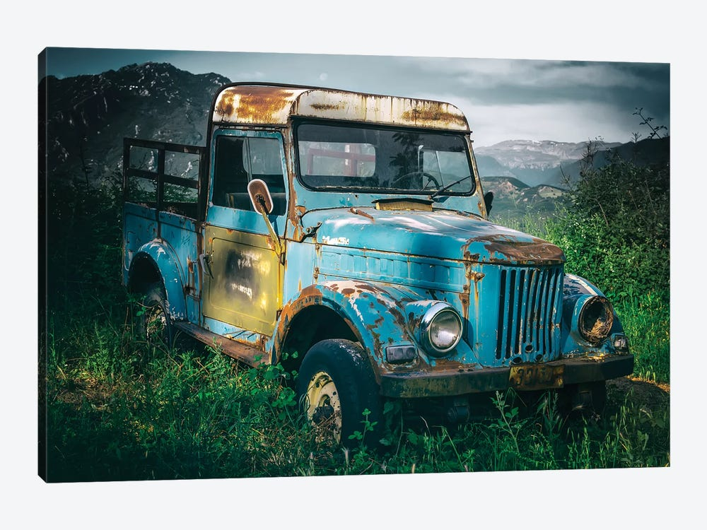 Blue Truck 1-piece Art Print