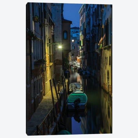 Venice At Night Canvas Print #JRS83} by Jaroslaw Blaminsky Canvas Print