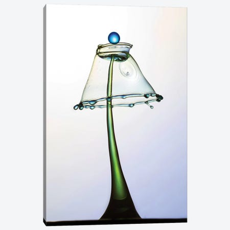 Water Lamp With Blue Pearl Canvas Print #JRS87} by Jaroslaw Blaminsky Canvas Wall Art