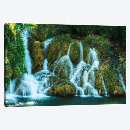 Waterfalls Of Croatia Canvas Print #JRS90} by Jaroslaw Blaminsky Canvas Artwork