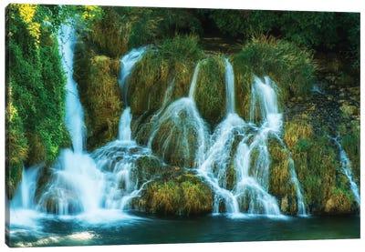 Waterfalls Of Croatia Canvas Art Print