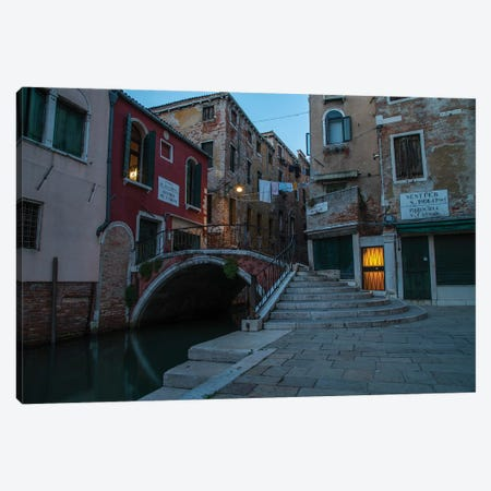 When The Evening Comes In Venice Canvas Print #JRS92} by Jaroslaw Blaminsky Canvas Art
