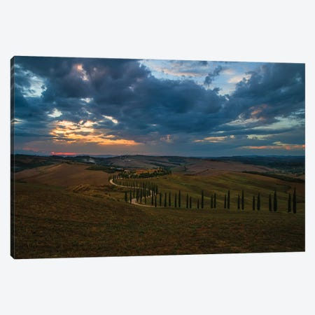 When The Sun Goes Down Canvas Print #JRS93} by Jaroslaw Blaminsky Canvas Wall Art