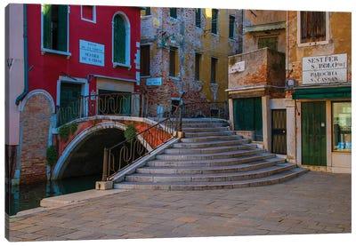 Bridges Of Venice Canvas Art Print