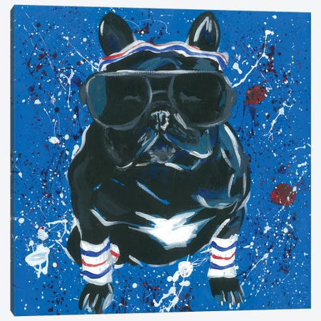 Dapper Animal III Canvas Print #JRU15} by Jennifer Rutledge Art Print