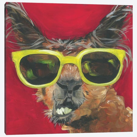Dapper Animal IV Canvas Print #JRU16} by Jennifer Rutledge Canvas Print