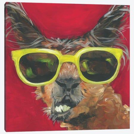 Dapper Animal IV Canvas Print #JRU16} by Jennifer Rutledge Canvas Print