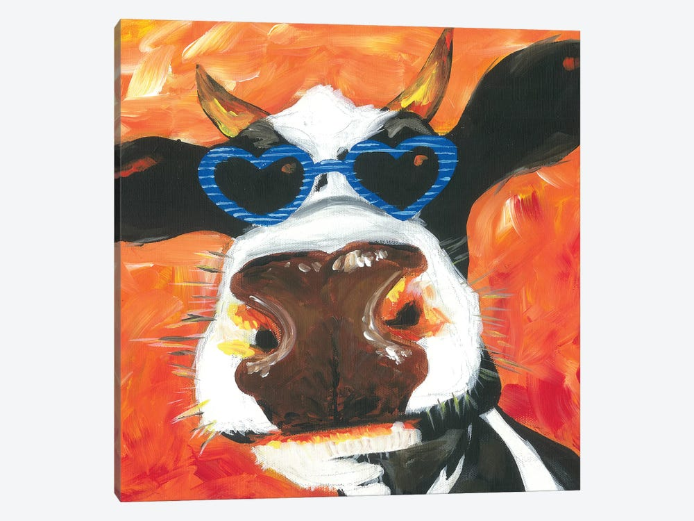 Dapper Animal V by Jennifer Rutledge 1-piece Canvas Art
