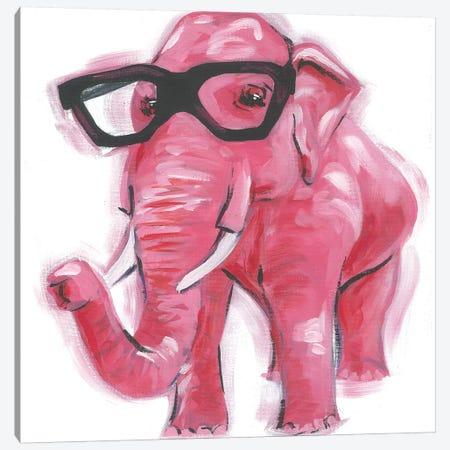 Dapper Animal VII Canvas Print #JRU18} by Jennifer Rutledge Canvas Art