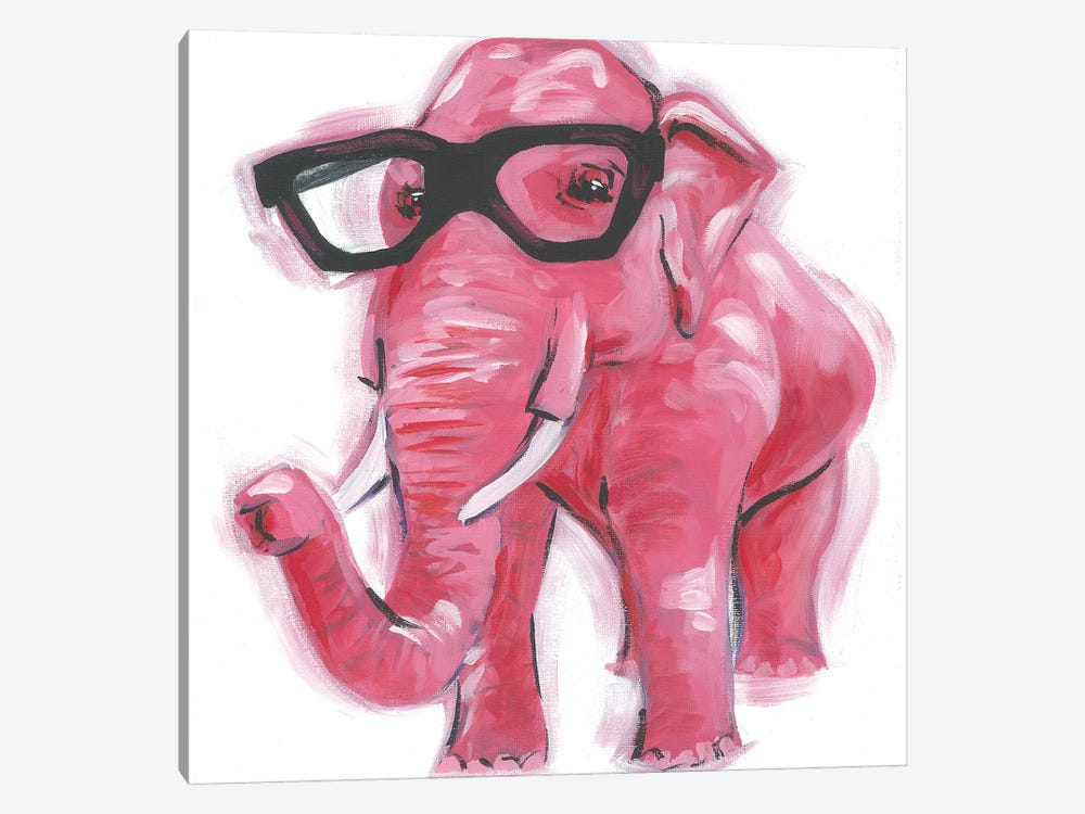 Dapper Animal VII by Jennifer Rutledge 1-piece Canvas Art Print