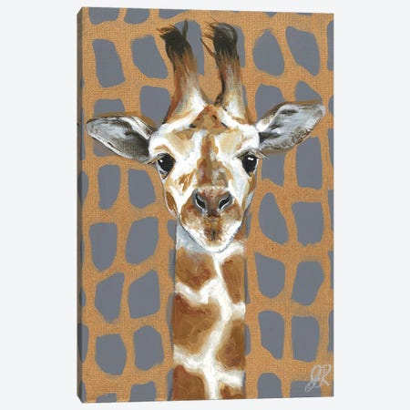 Animal Patterns I Canvas Print #JRU5} by Jennifer Rutledge Canvas Artwork