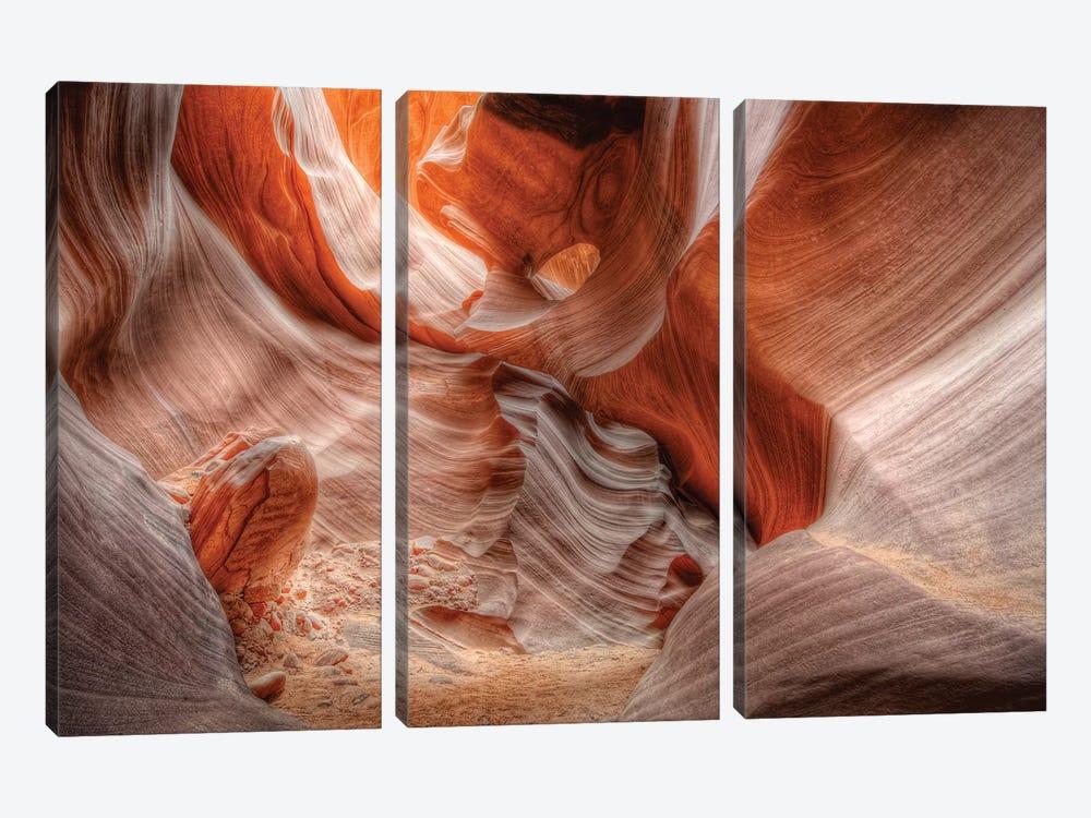 Antelope Canyon by Joseph Rowland 3-piece Canvas Wall Art