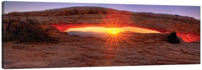 Mesa Arch Sunrise Canvas Art Print