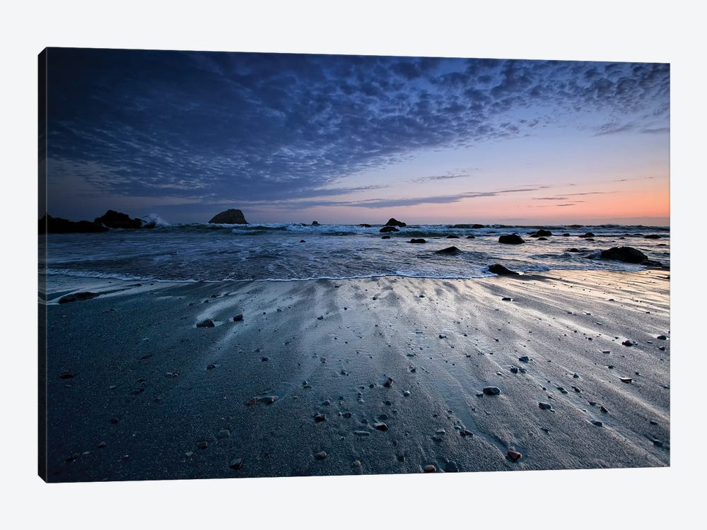 Tide Rushes Out by Joseph Rowland 1-piece Canvas Print