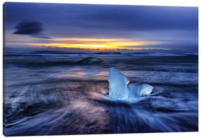 Diamond Beach, Iceland Canvas Art Print