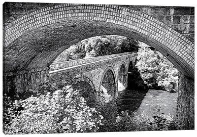 Bridge Within A Bridge, Wales Canvas Art Print