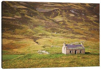 Cairngorms Cottage, Scotland Canvas Art Print