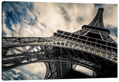 Eiffel Tower, Paris, Low Angle View Canvas Art Print