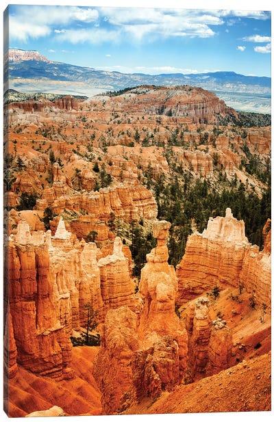 Bryce Canyon, Usa Canvas Art Print