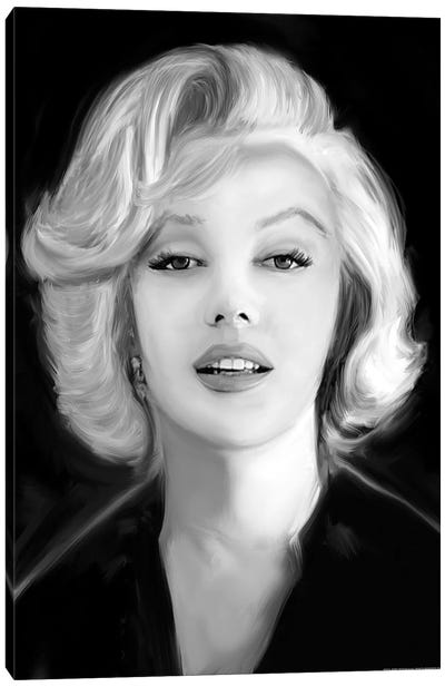 Marilyn's Whisper Canvas Art Print