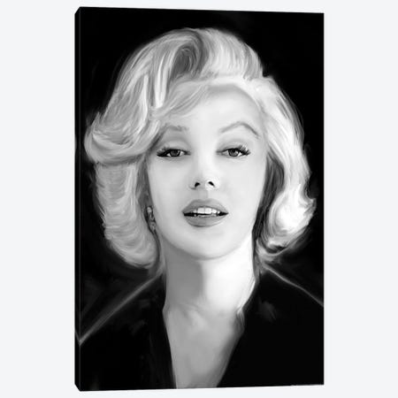 Marilyn's Whisper Canvas Print #JRY11} by Jerry Michaels Canvas Artwork