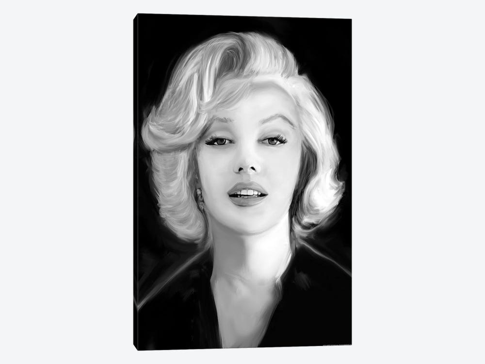 Marilyn's Whisper by Jerry Michaels 1-piece Canvas Wall Art