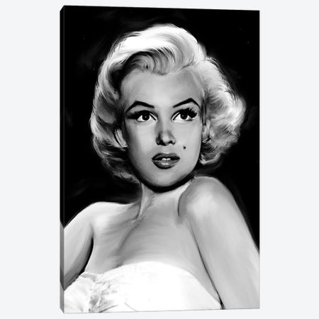 Pixie Marilyn Canvas Print #JRY12} by Jerry Michaels Canvas Wall Art