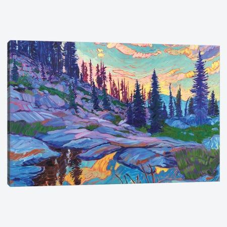 Mountain Revelry Canvas Print #JSA11} by Jessica Johnson Art Print