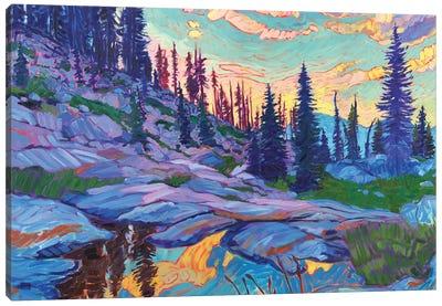 Mountain Revelry Canvas Art Print