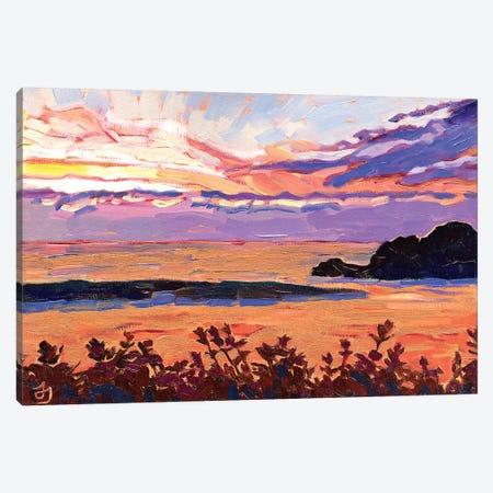 River Of Gold Canvas Print #JSA19} by Jessica Johnson Art Print