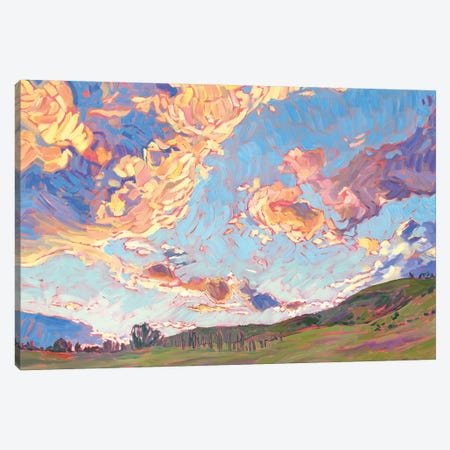 Sky Wide Open Canvas Print #JSA21} by Jessica Johnson Canvas Wall Art