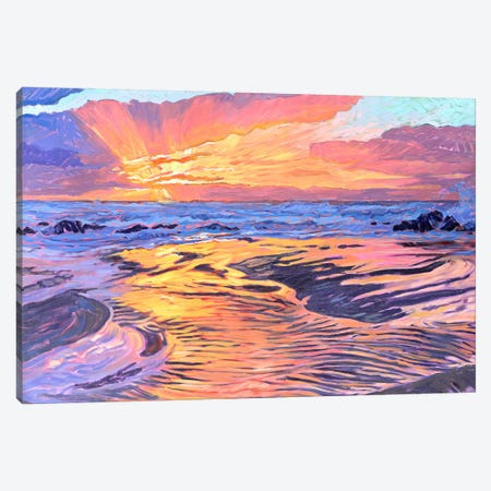 Fire And Water Canvas Print #JSA6} by Jessica Johnson Canvas Artwork