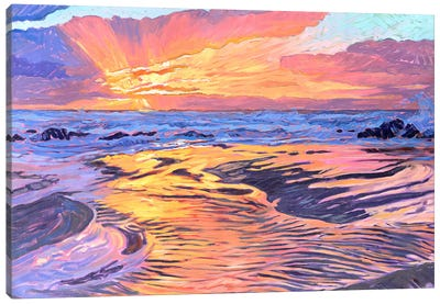 Fire And Water Canvas Art Print