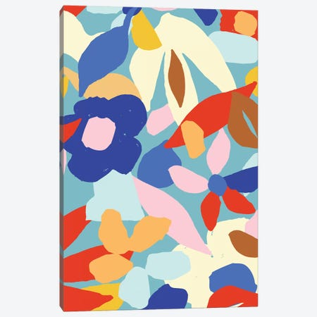 Bright And Bold VIII Canvas Print #JSB20} by Jessica Bruggink Art Print